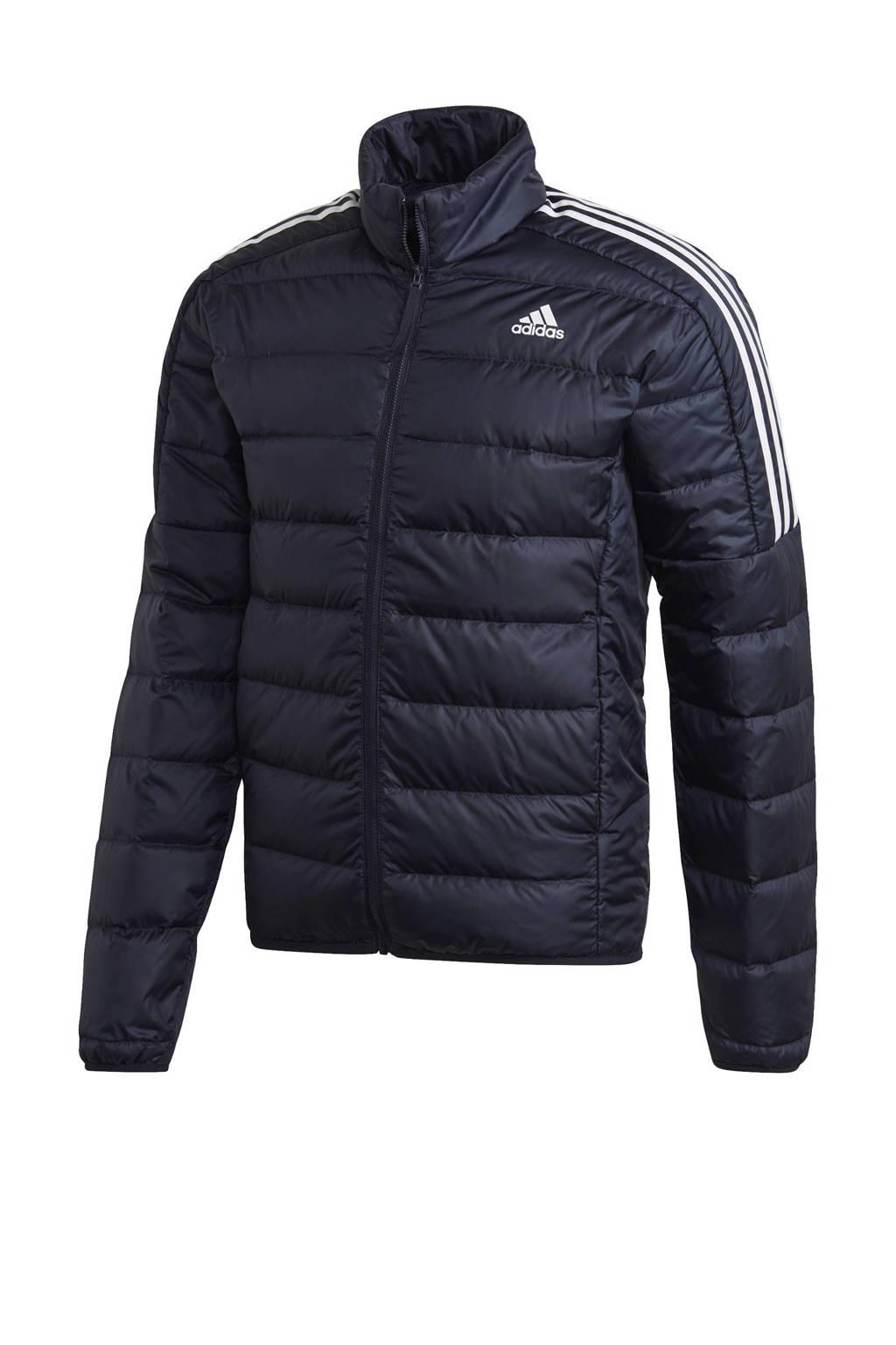adidas Performance gewatteerde jas donkerblauw, Donkerblauw