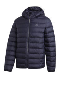 adidas Performance jas met logo donkerblauw, Donkerblauw