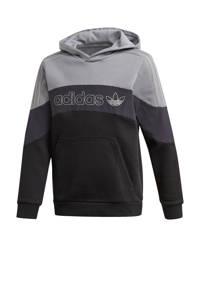 adidas Originals hoodie grijs/zwart, Grijs/zwart