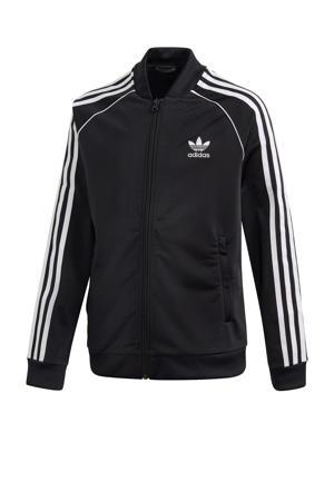 vest zwart/wit