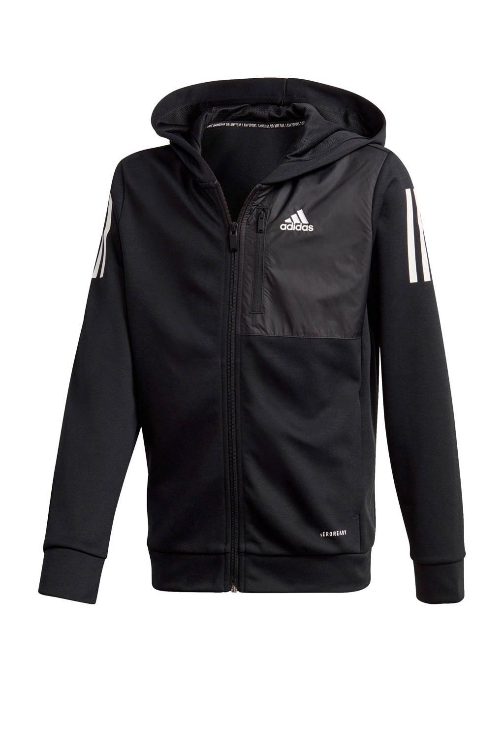 adidas Performance   sportvest zwart, Zwart
