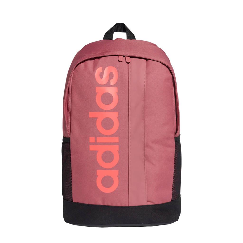 adidas Performance   Lineair Core Backpack sport rugzak roze/zwart, Roze/zwart