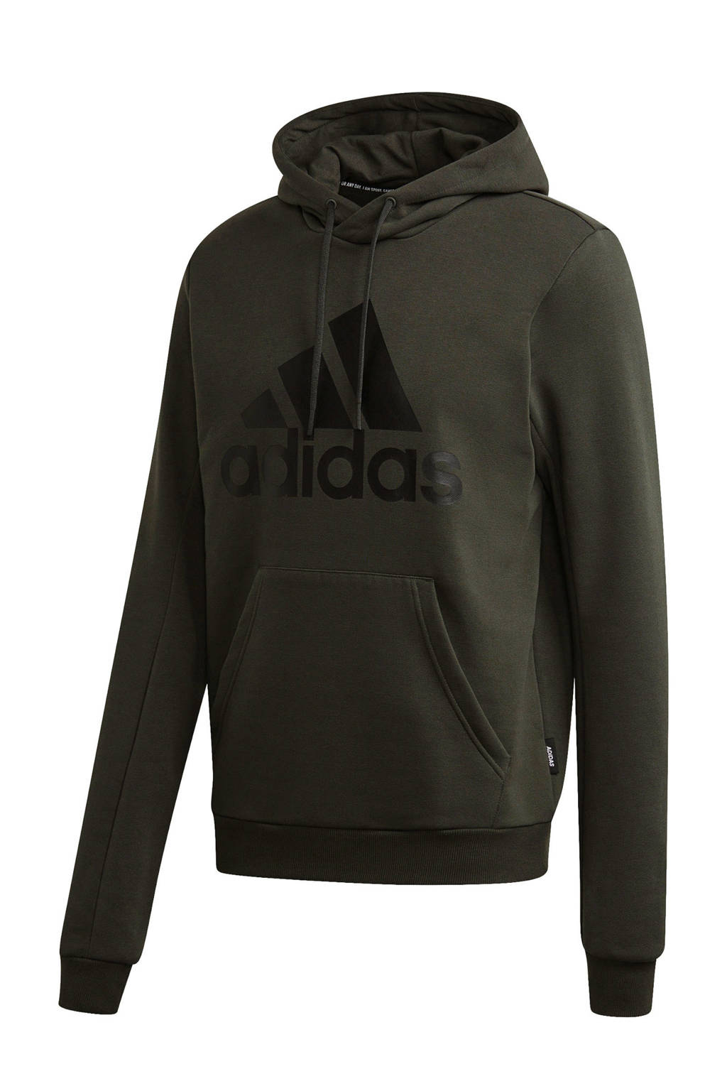 adidas Performance   sportsweater donkergroen, Donkergroen