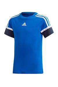 adidas Performance   sport T-shirt blauw/donkerblauw, Blauw/donkerblauw