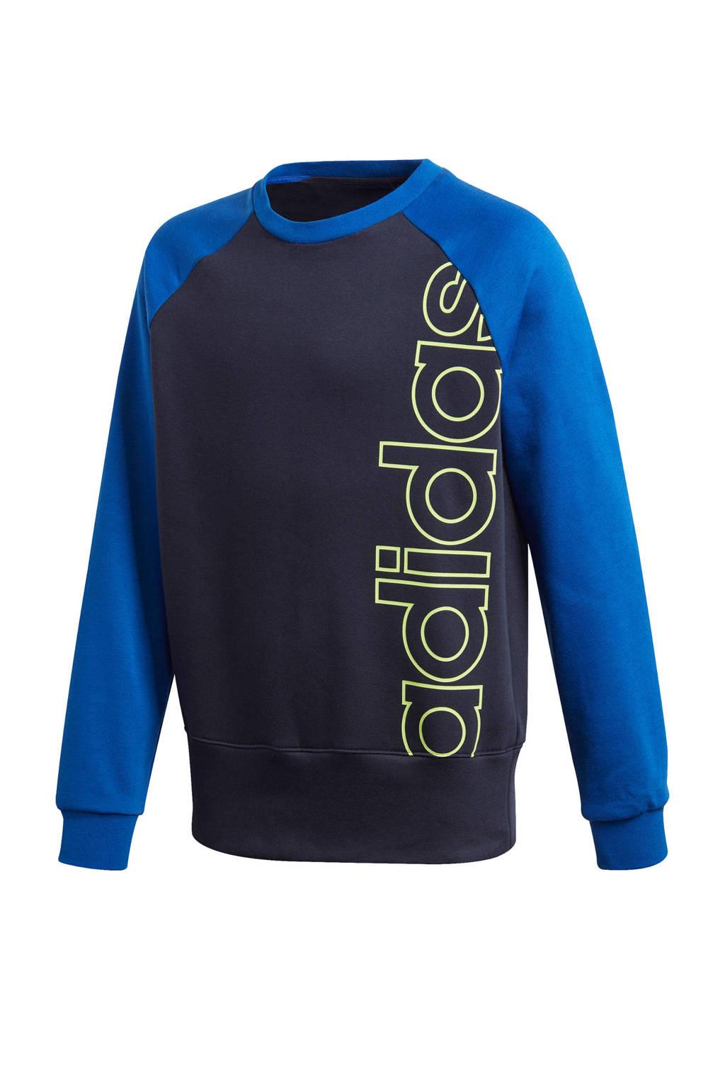 adidas Performance   sportsweater donkerblauw/blauw, Donkerblauw/blauw