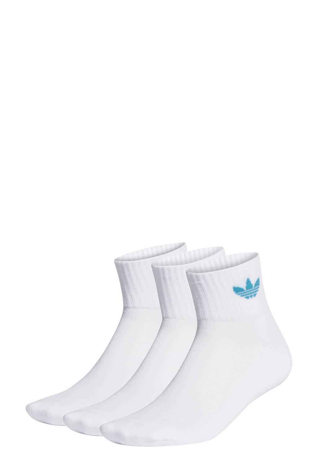 adidas Originals sportsokken - set van 3 wit, Wit
