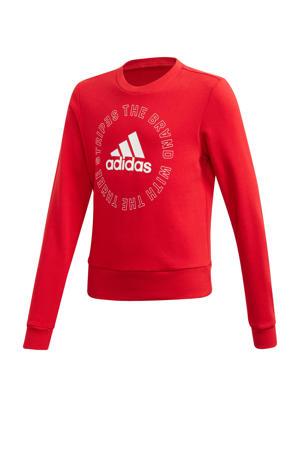 sportsweater rood