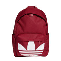 adidas Originals   Adicolor Classic rugzak donkerrood/wit, Donkerrood/wit