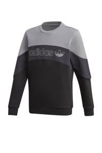 adidas Originals sweater grijs/zwart, Grijs/zwart