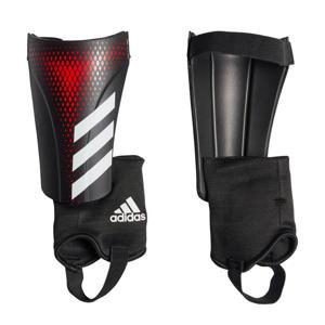 Sr. scheenbeschermers Predator Match zwart/rood
