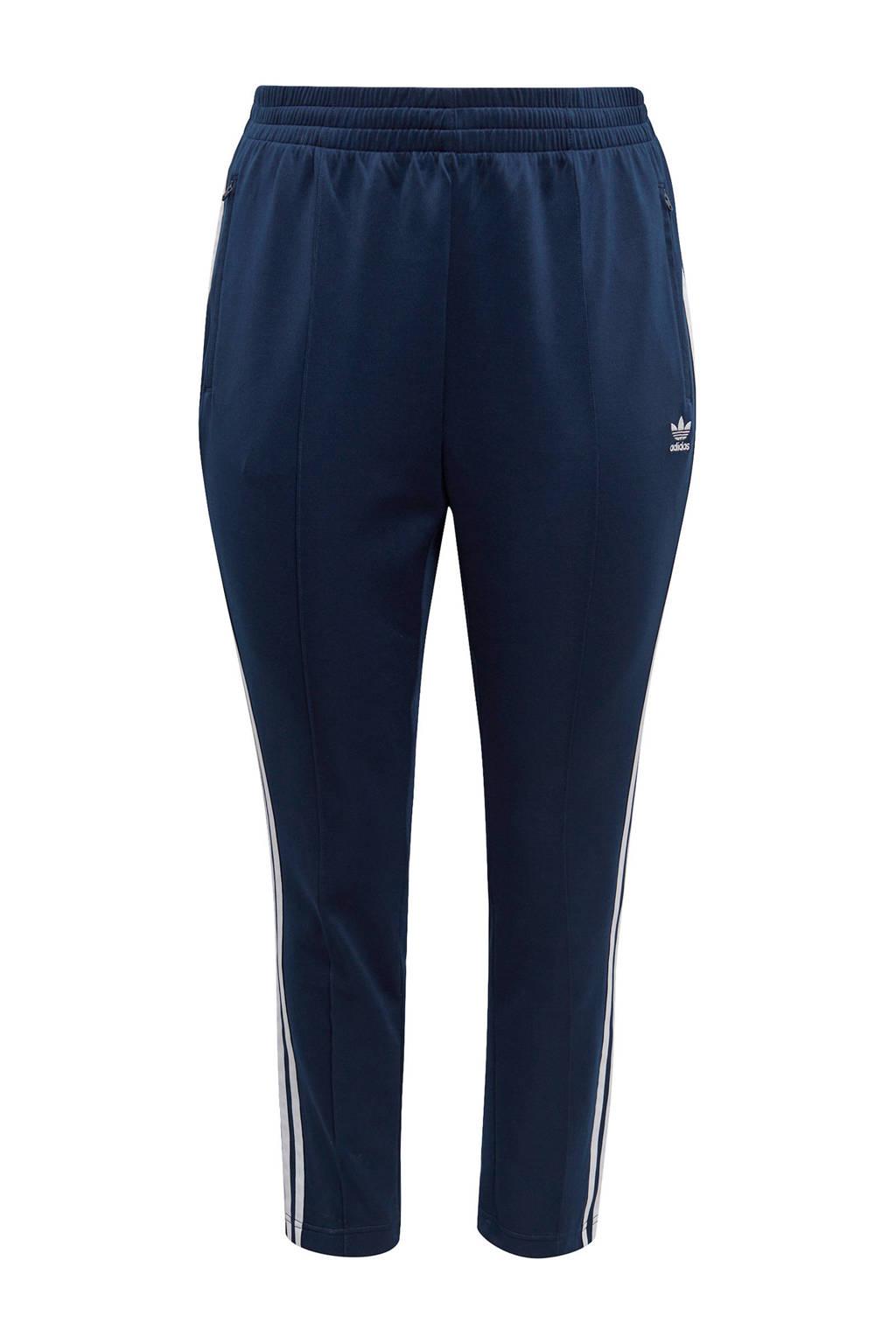 adidas Originals Plus Size joggingbroek donkerblauw/wit, Donkerblauw/wit
