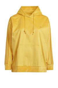 adidas Originals Plus Size Corduroy hoodie geel, Geel