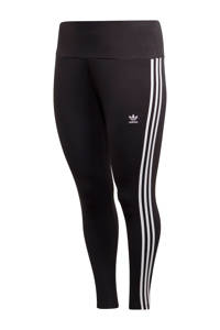 adidas Originals Plus Size legging zwart, Zwart