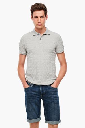 regular fit jeans short donkerblauw