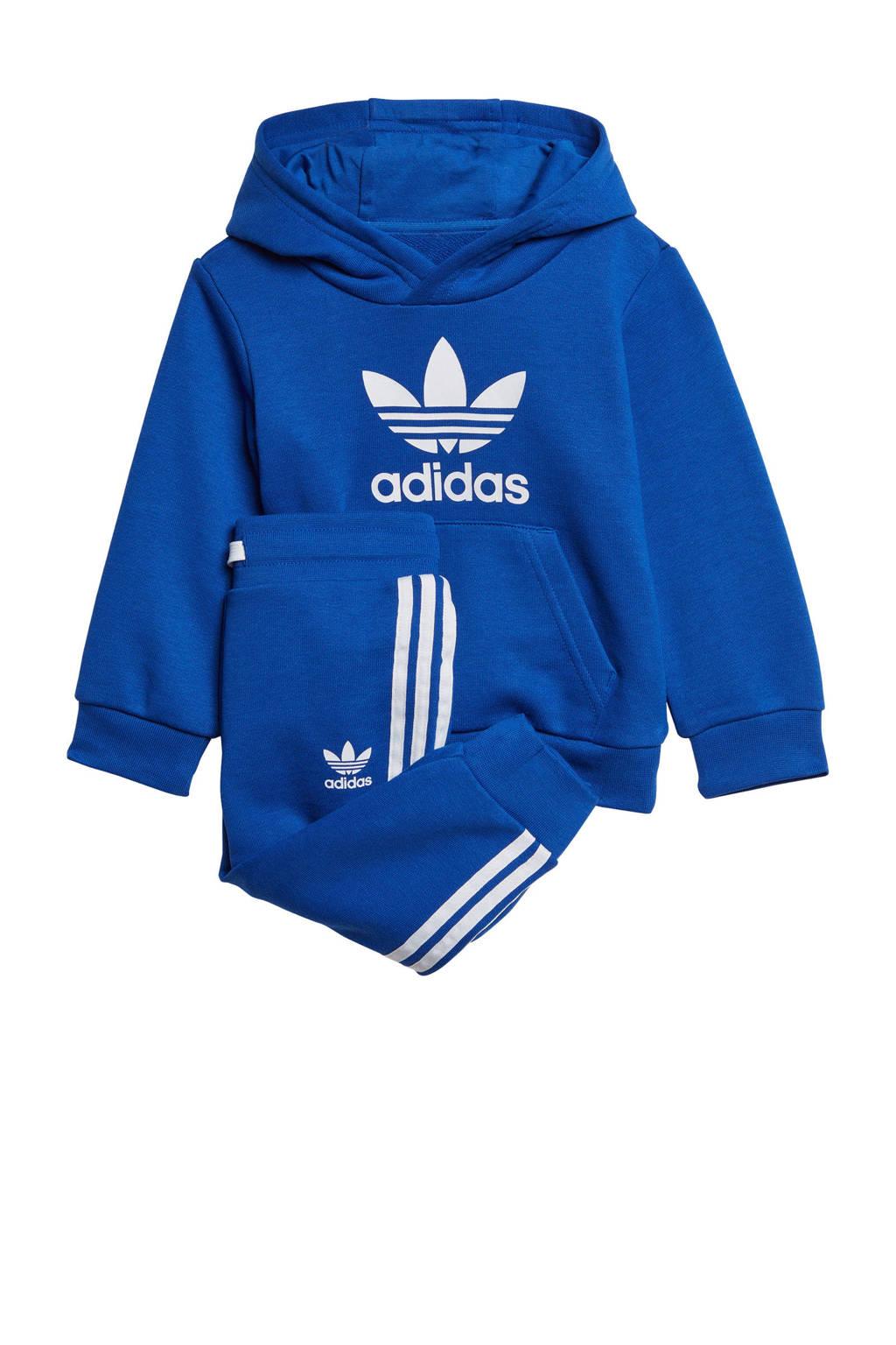 adidas Originals   trainingspak blauw, Blauw