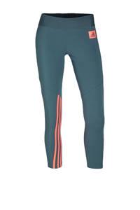 adidas Performance 7/8 sportbroek grijsblauw, Grijsblauw