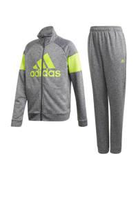 adidas Performance   trainingspak grijs, Grijs/groen