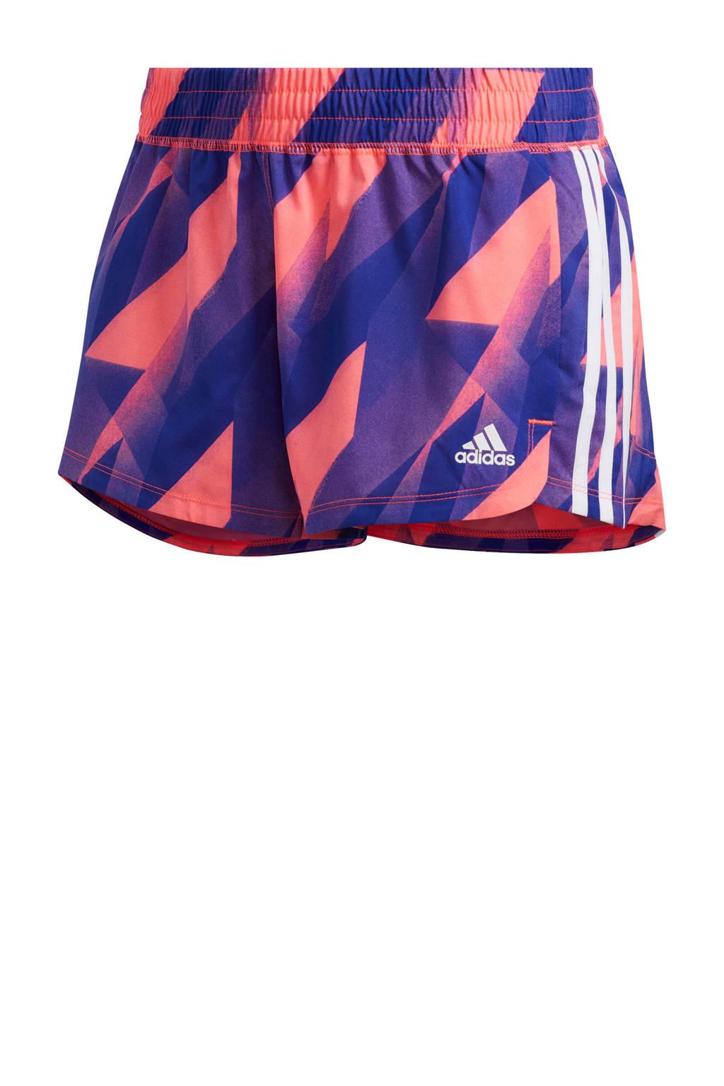 adidas Performance sportshort paars/roze, Paars/roze