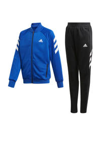 adidas Performance   trainingspak blauw/zwart, Blauw/zwart