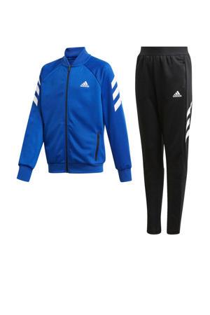 trainingspak blauw/zwart