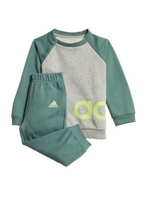 joggingpak grijs/groen