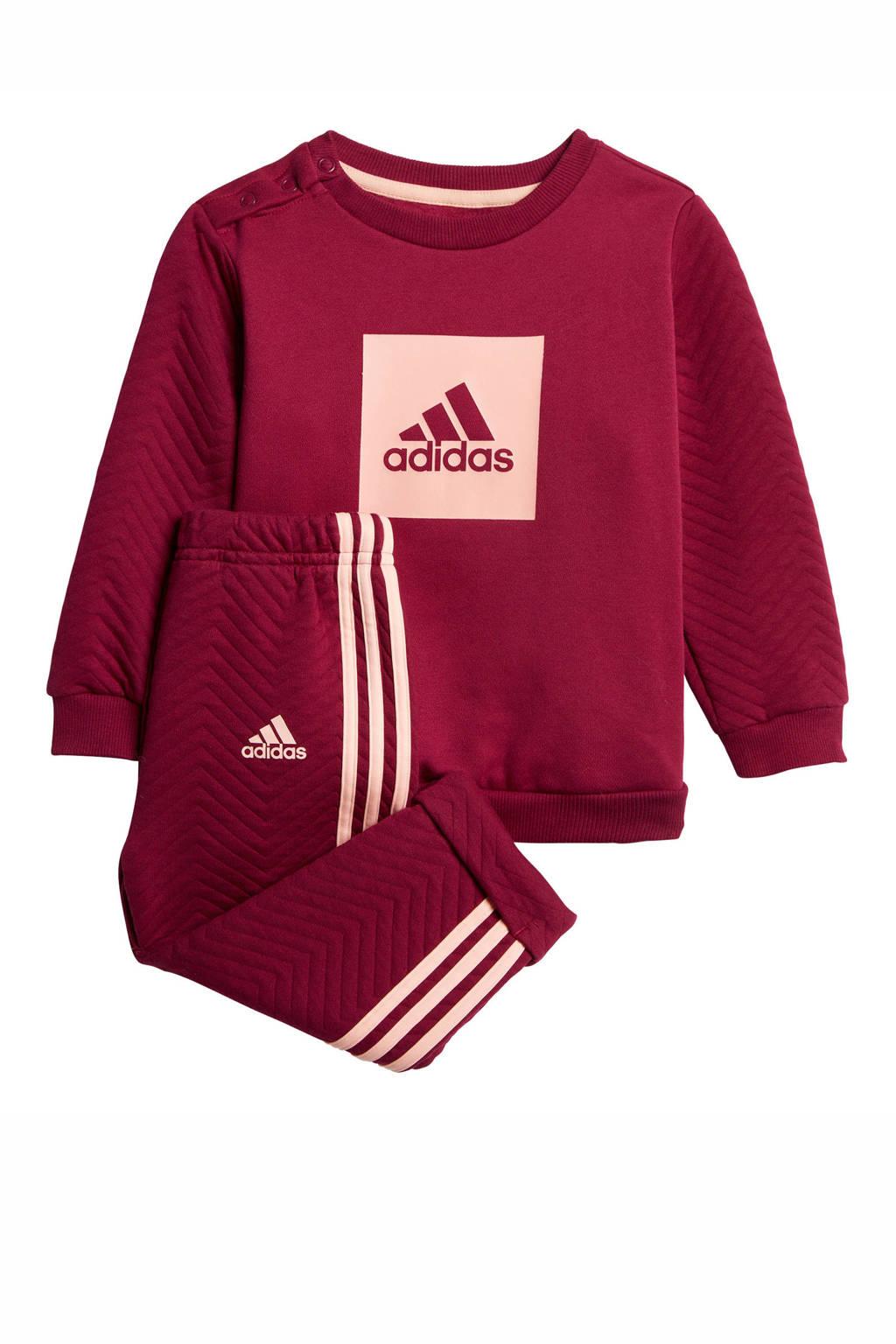 adidas Performance   trainingspak roze/lichtroze, Roze/lichtroze