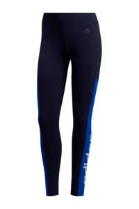 adidas Performance sportbroek donkerblauw/blauw, Donkerblauw/blauw