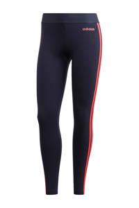 adidas Performance sportbroek donkerblauw/oranje, Donkerblauw/oranje