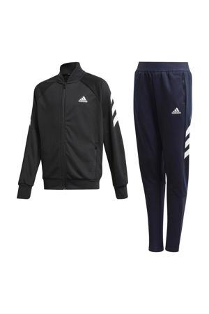 trainingspak zwart/wit