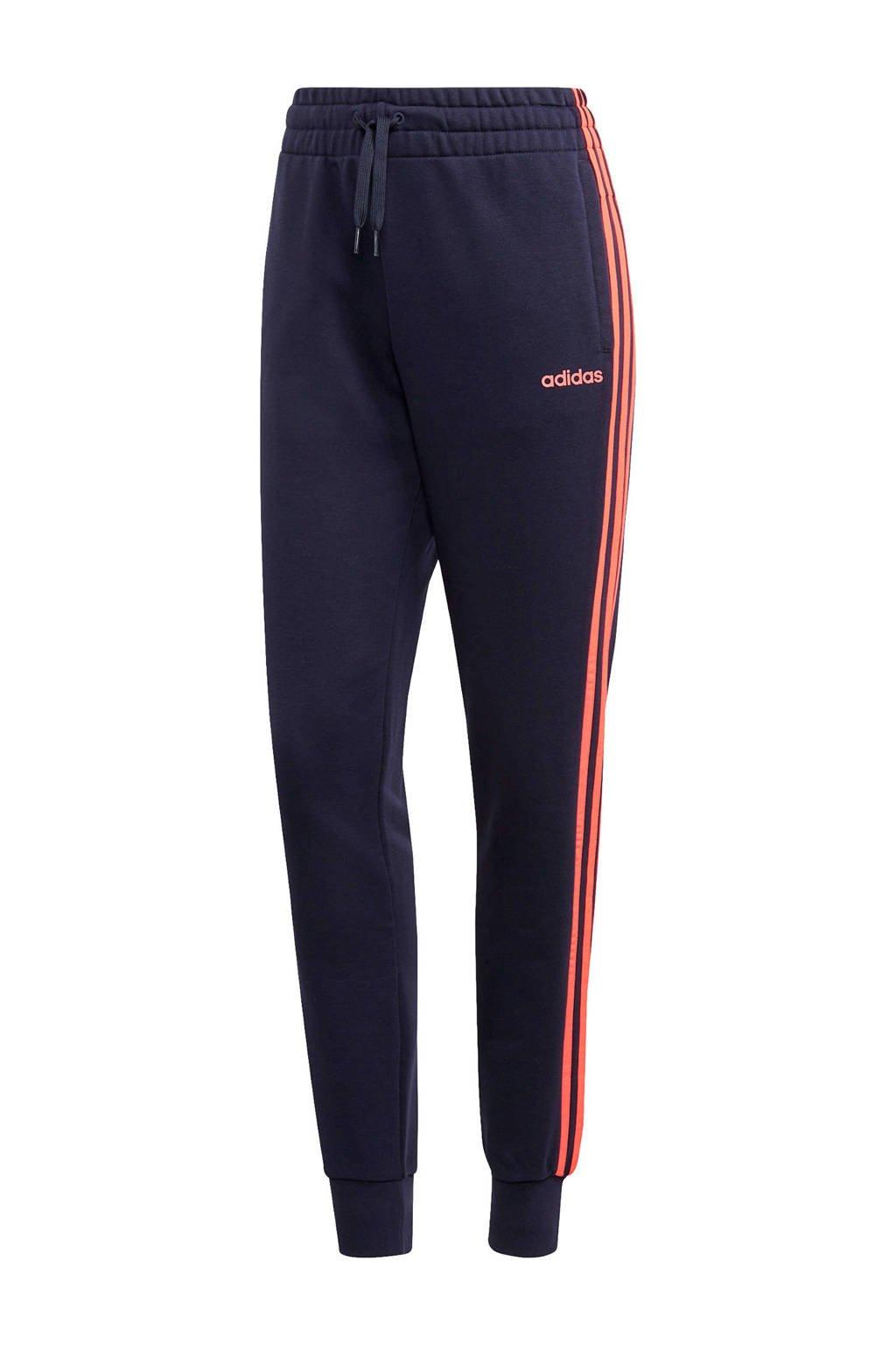 adidas Performance sportbroek donkerblauw/koraalrood, Donkerblauw/koraalrood