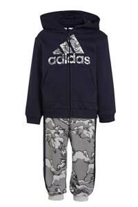 adidas Performance   joggingpak donkerblauw/grijs, Donkerblauw/grijs