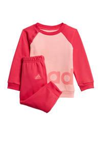 adidas Performance joggingpak roze, Roze, Meisjes