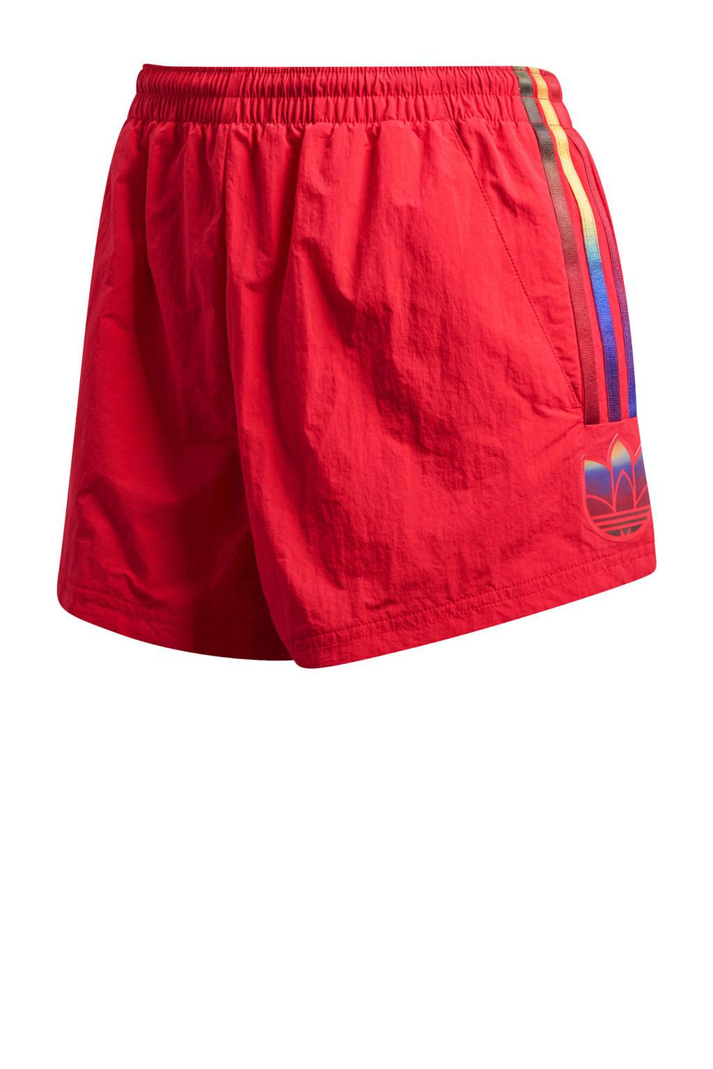adidas Originals short rood, Rood