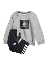 adidas Performance trainingspak grijs/zwart, Grijs/zwart