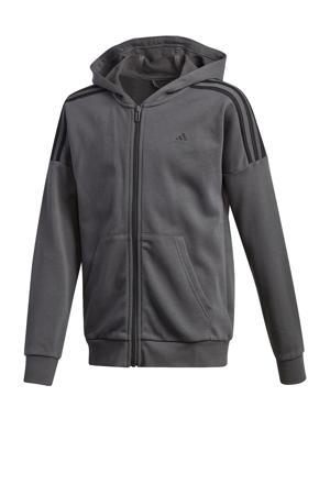 Junior  joggingpak grijs/zwart
