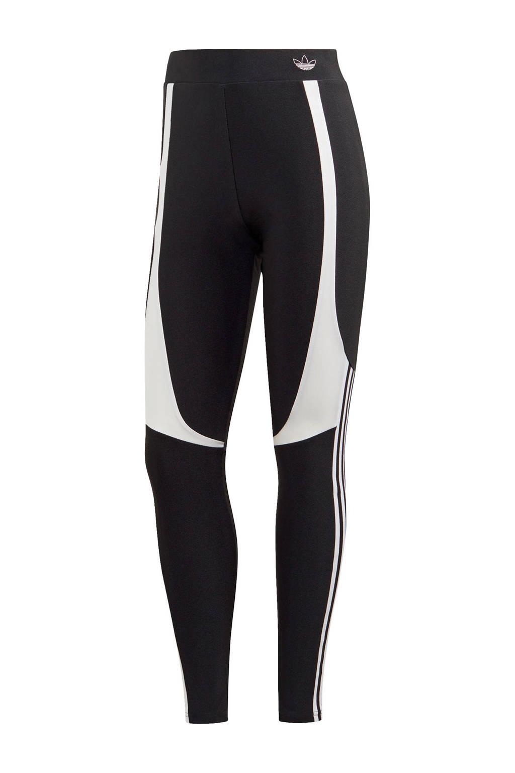 adidas Originals legging zwart/wit, Zwart/wit