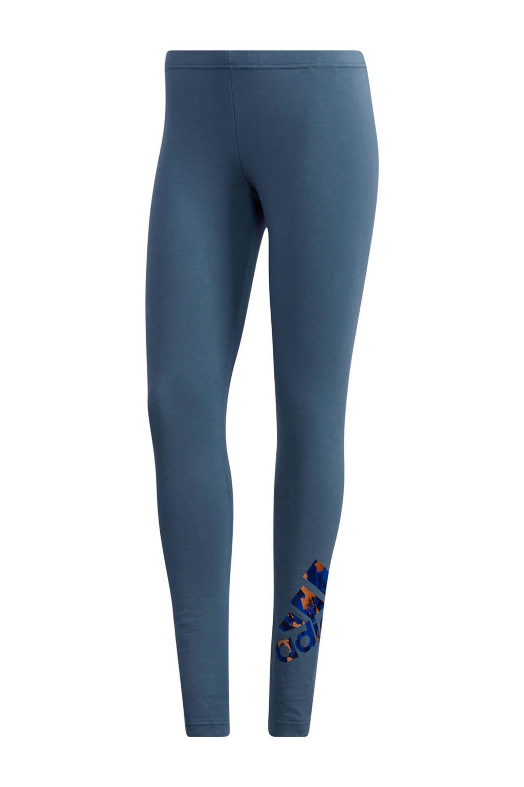 adidas Performance sportbroek grijsblauw, Grijsblauw
