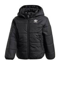 adidas Originals gewatteerde winterjas zwart, Zwart