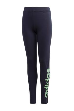 sportbroek zwart/groen