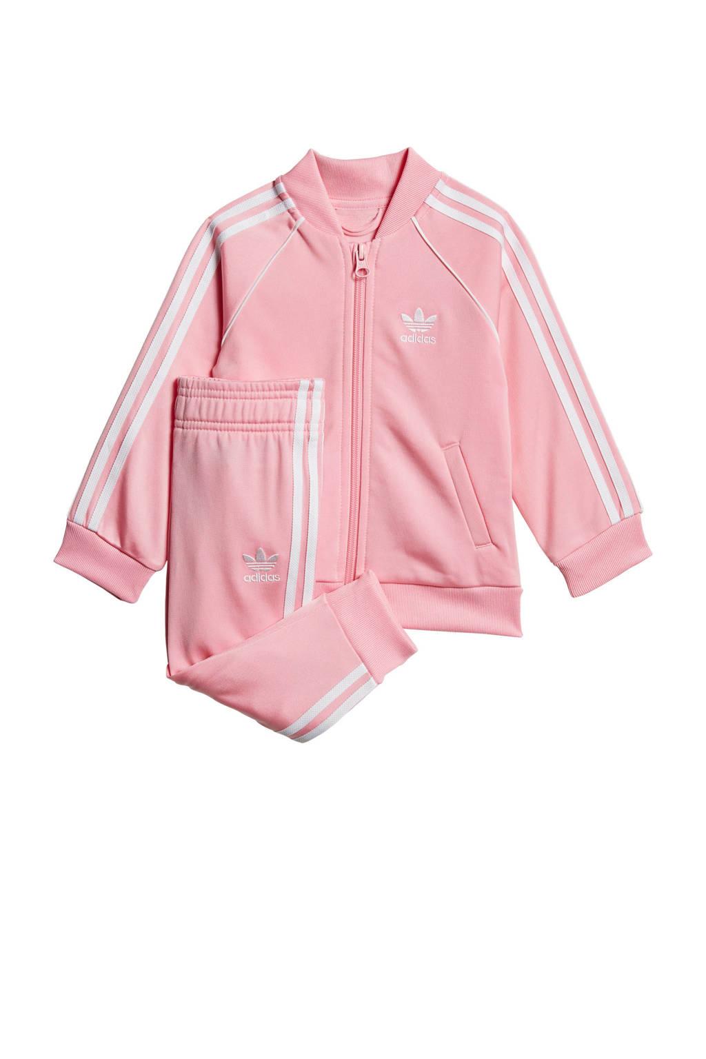 adidas Originals   trainingspak roze, Roze