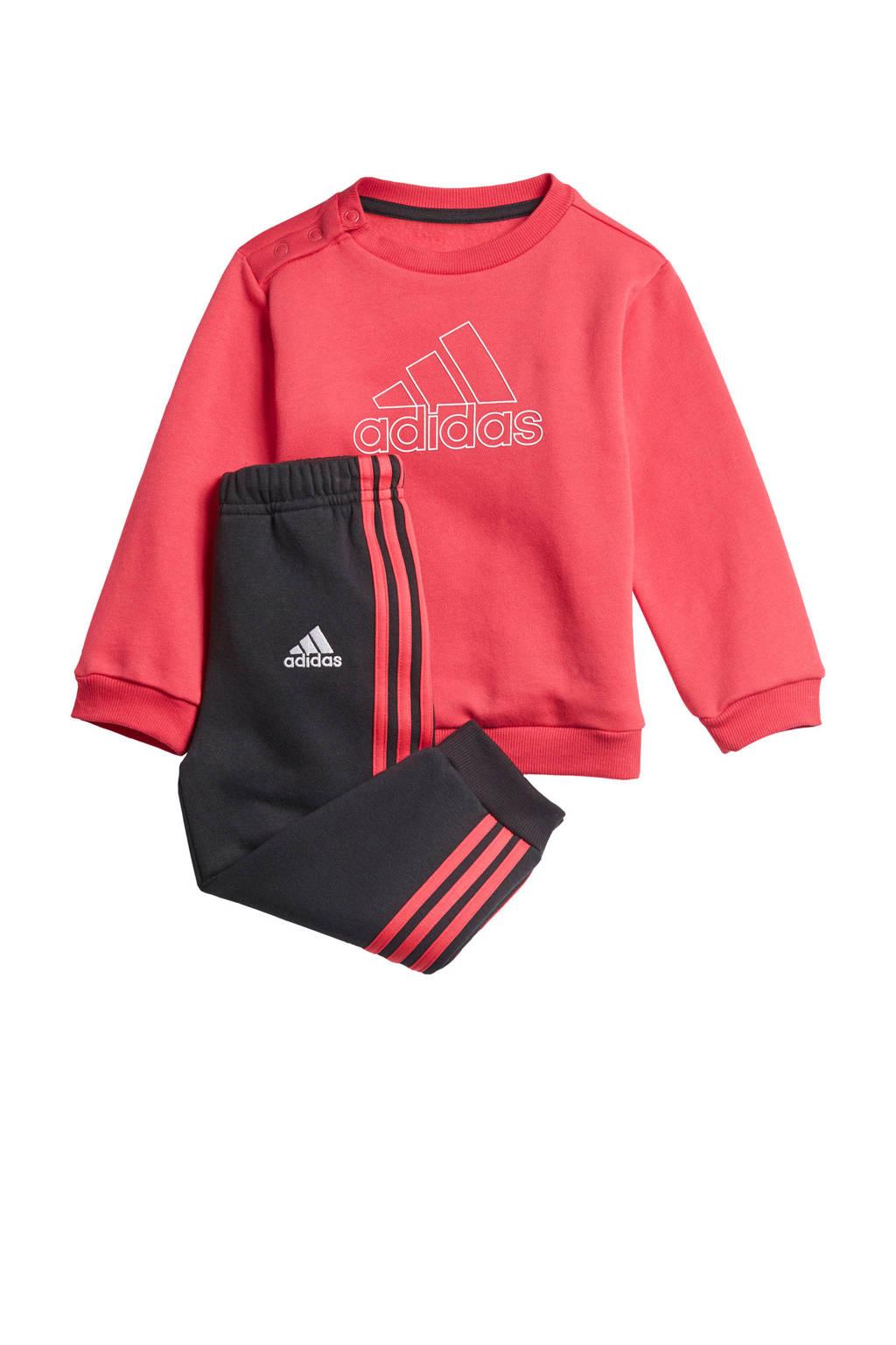adidas Performance trainingspak roze/zwart, Roze/zwart