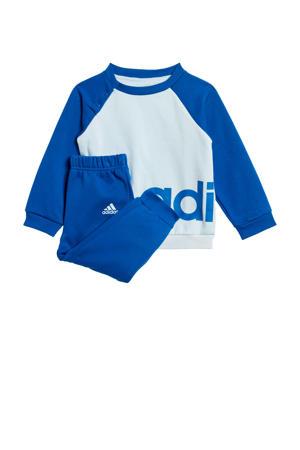 joggingpak lichtblauw/kobaltblauw