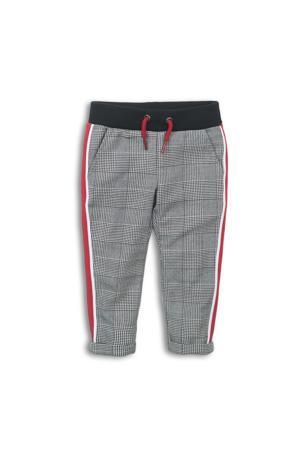 geruite broek zwart/wit/rood