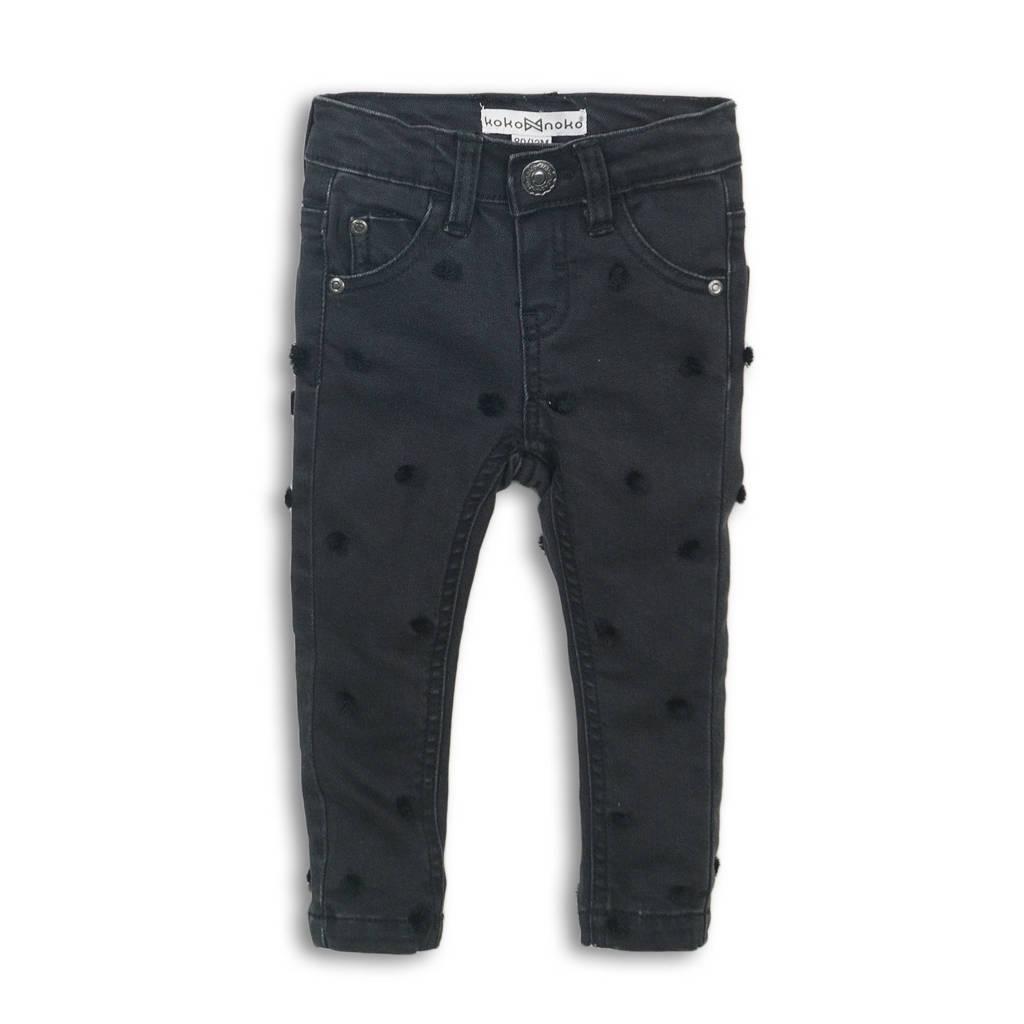Koko Noko regular fit jeans zwart, Zwart