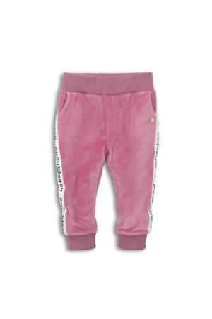 broek roze/wit/zwart