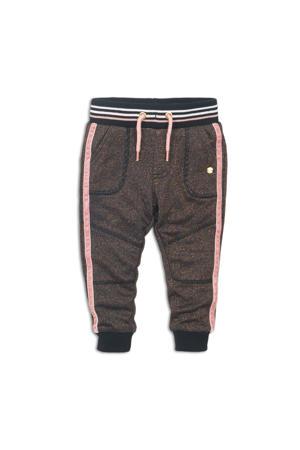 broek roze/zwart/bruin