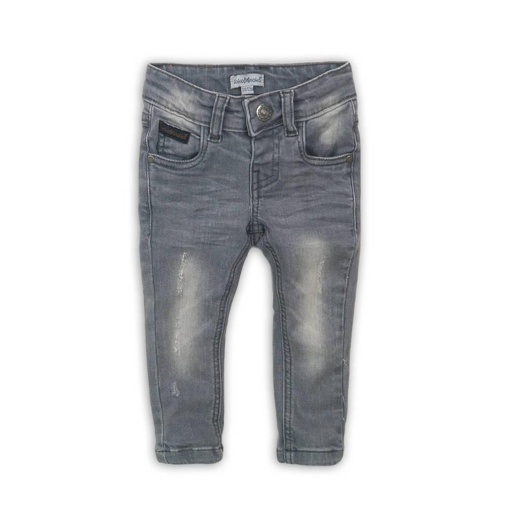 Koko Noko regular fit jeans grijs stonewashed, Grijs stonewashed