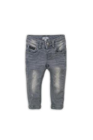regular fit jeans grijs stonewashed