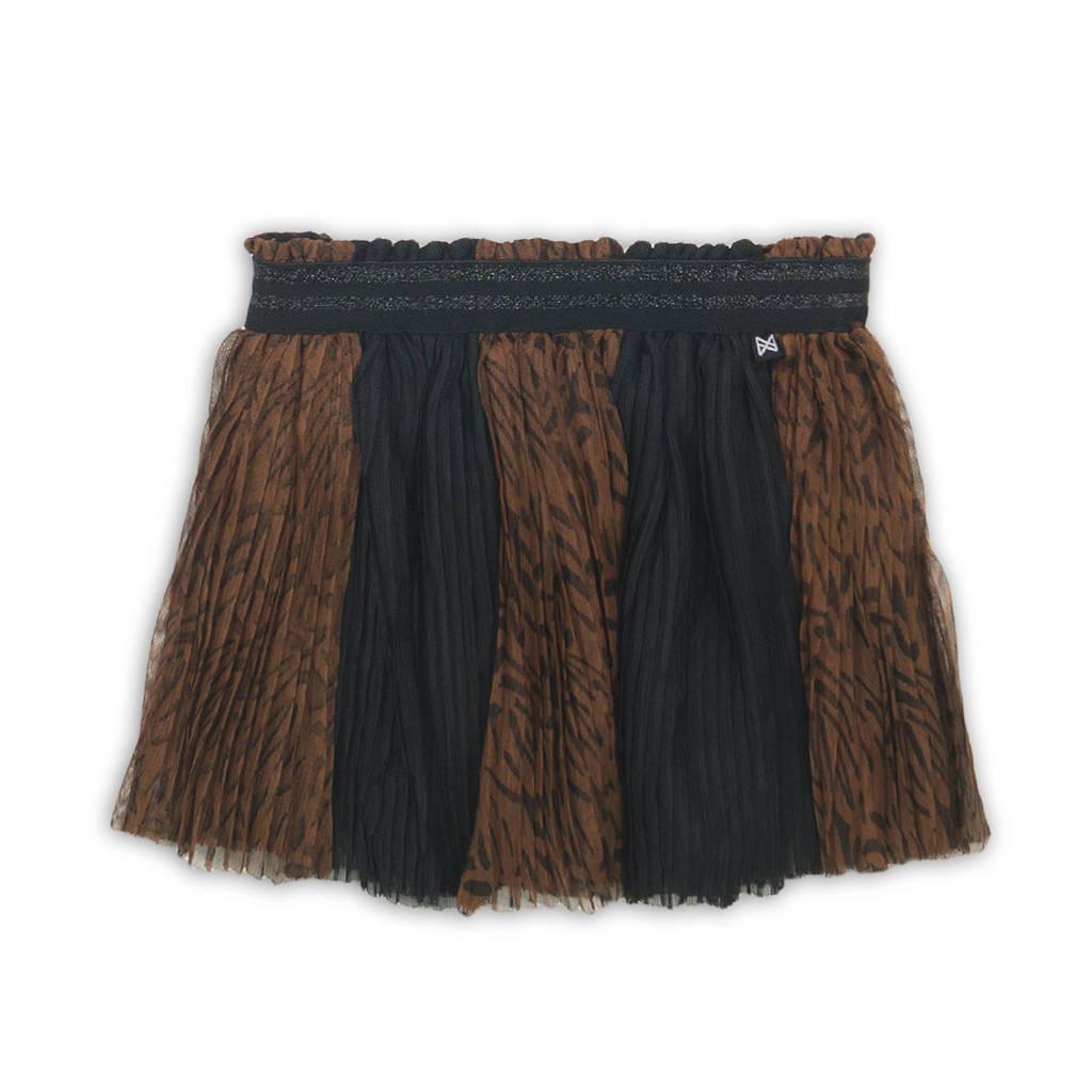 Koko Noko rok zwart/bruin, Zwart/bruin