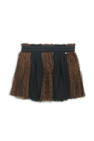 rok zwart/bruin